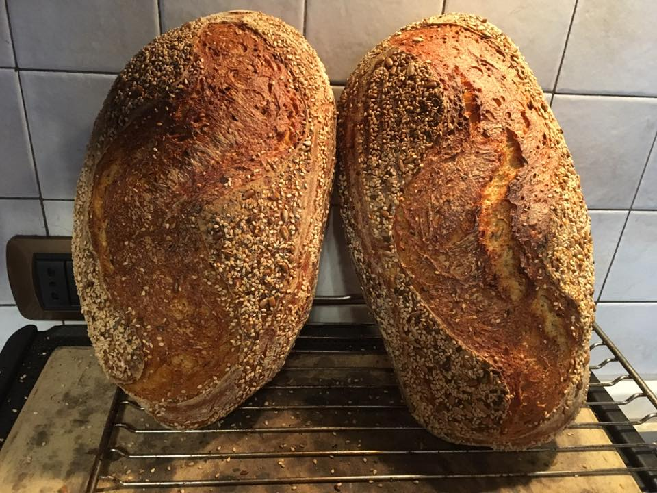 Pane a lievitazione naturale, doppia lievitazione