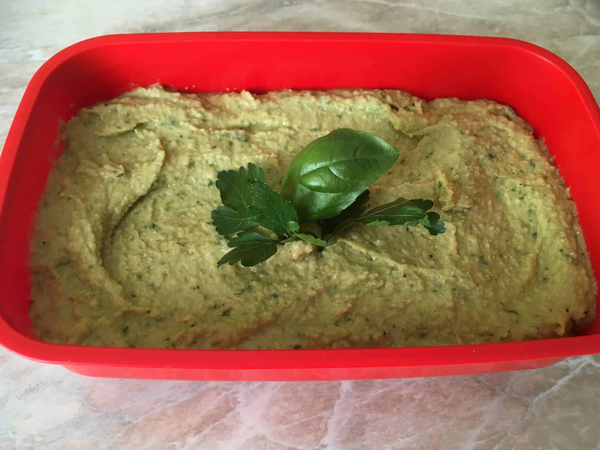 Hummus di ceci al pesto