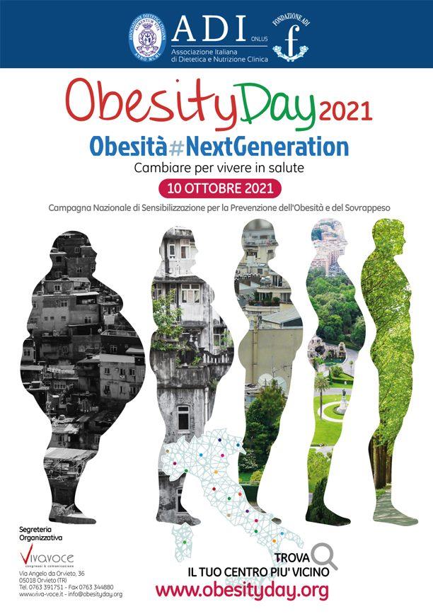 10 Ottobre 2021 Giornata Mondiale dell'Obesità
